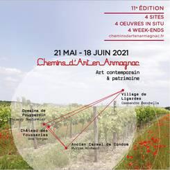 Chemins d'Art en Armagnac 2021 Condom  - Gers