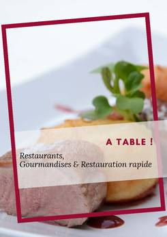 Restaurants, Gourmandises & Restauration rapide