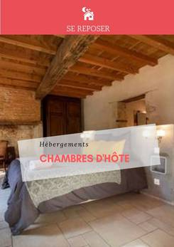 HEBERGEMENT - CHAMBRES D'HOTES 2019