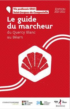 Guide pèlerin - randonneur - Saint-Jacques de Compostelle Gers 2021