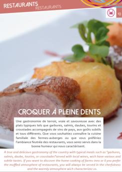 Restaurants CONDOM-GERS-TENAREZE