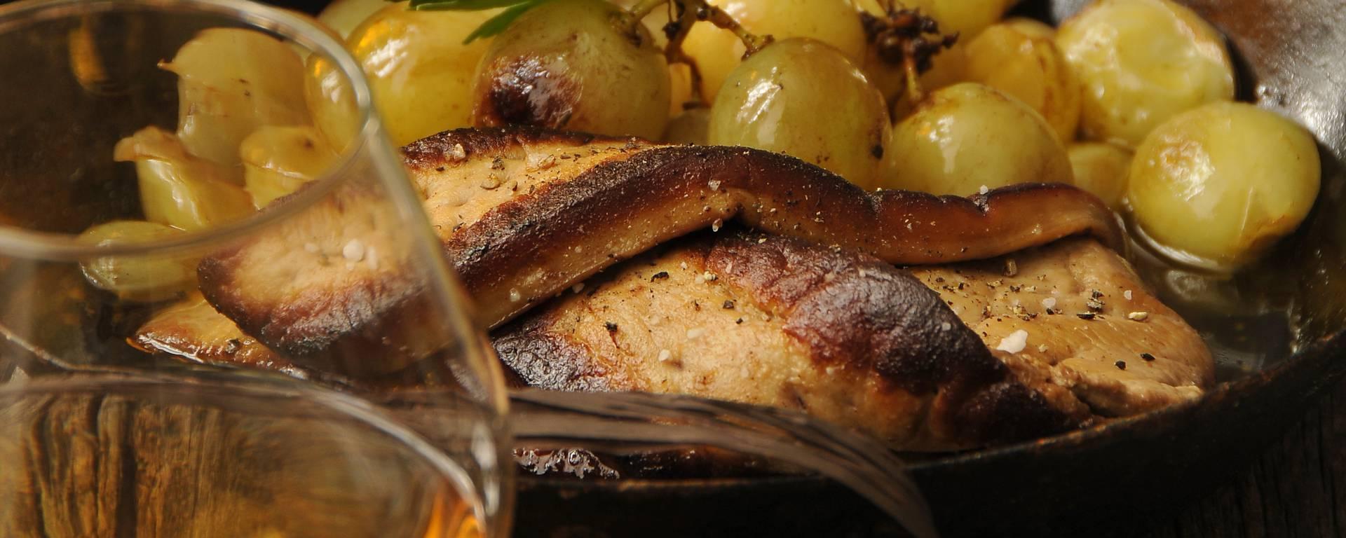 Foie gras flambé à l'Armagnac