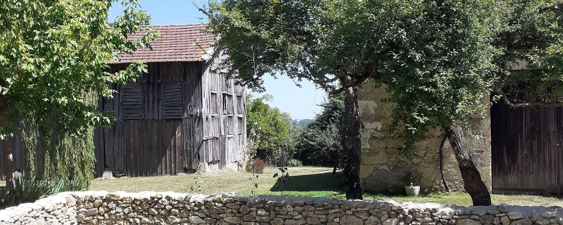 Village de Lagardère dans le Gers