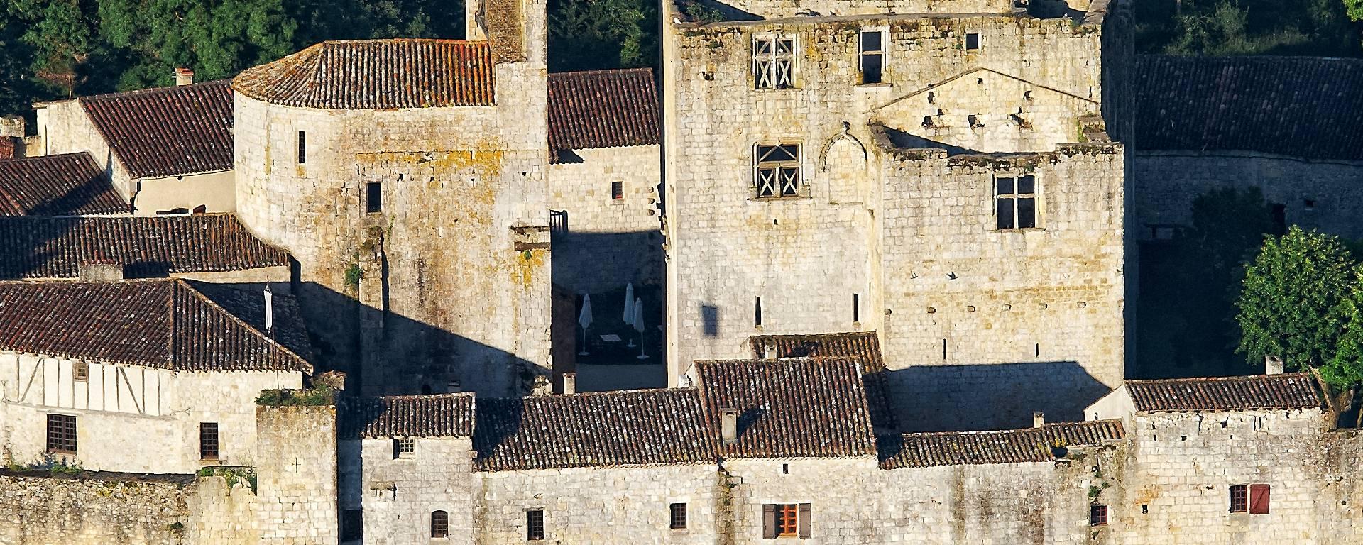 Le village fortifié de Larressingle