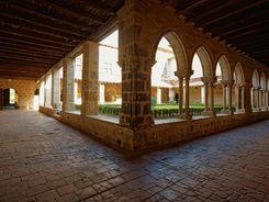 Le cloître de l'abbaye de Flaran