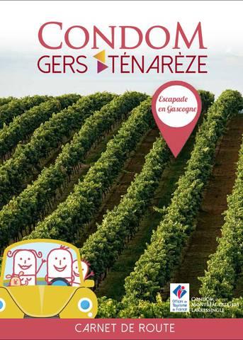 Carnet de route des vacances Condom - Gers - Ténarèze