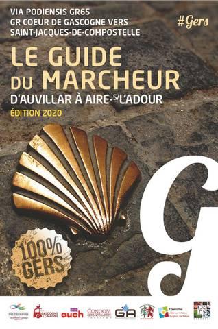 Guide pèlerin - randonneur - Saint-Jacques de Compostelle Gers 2020