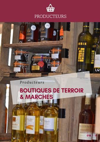 BOUTIQUES DE TERROIR & MARCHES 2019