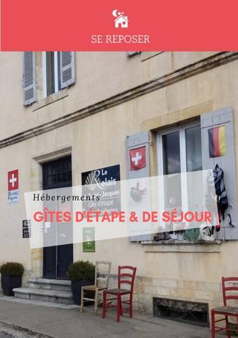 HÉBERGEMENT - GÎTES D'ÉTAPES POUR LES PELERINS 2019