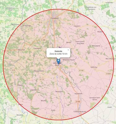 Que faire à 10km autour de Valence-sur-Baïse ?