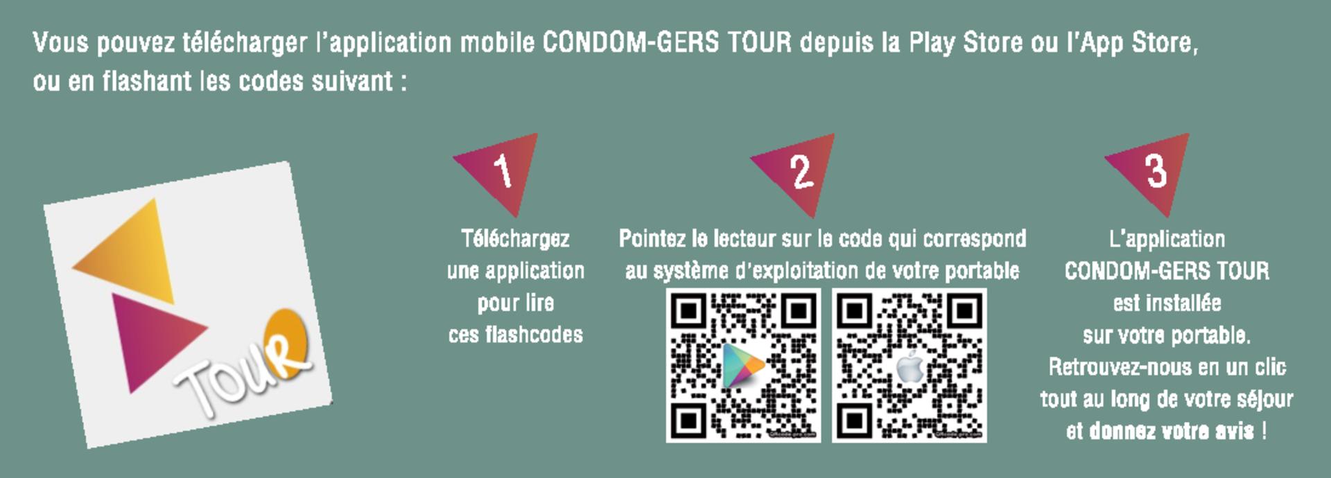 Télécharger gratuitement l'application mobile Condom - Gers Tour