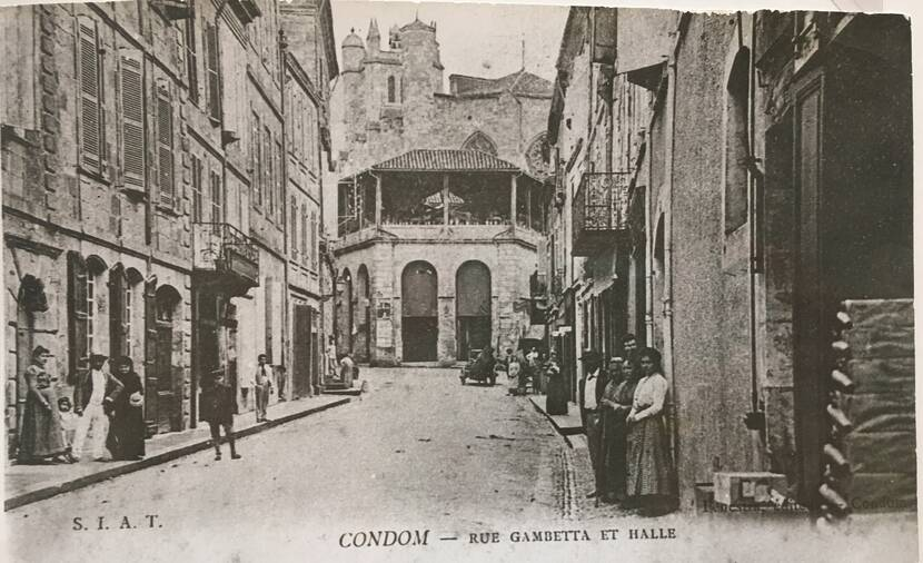 Rue Gambetta - photo ancienne Fenestra