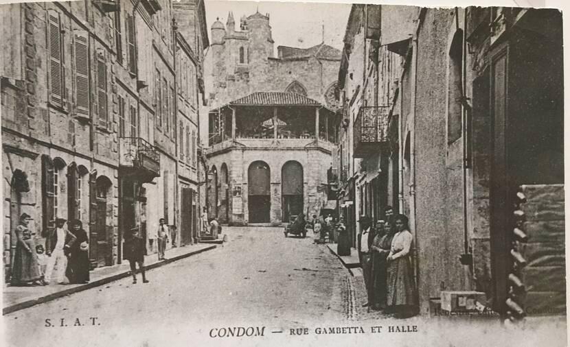 Rue Gambetta - photo ancienne Fenestra