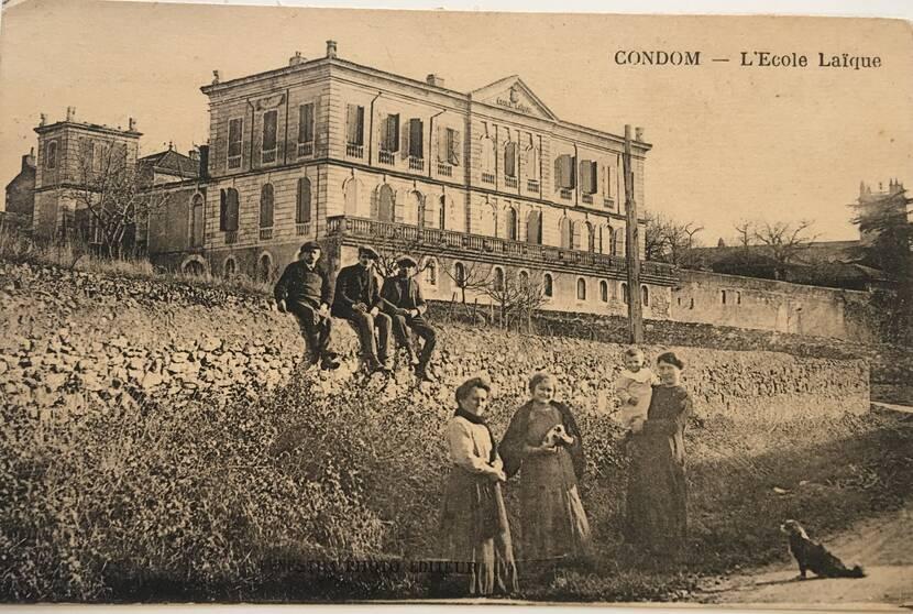 Hôtel de Polignac - photo ancienne Fenestra