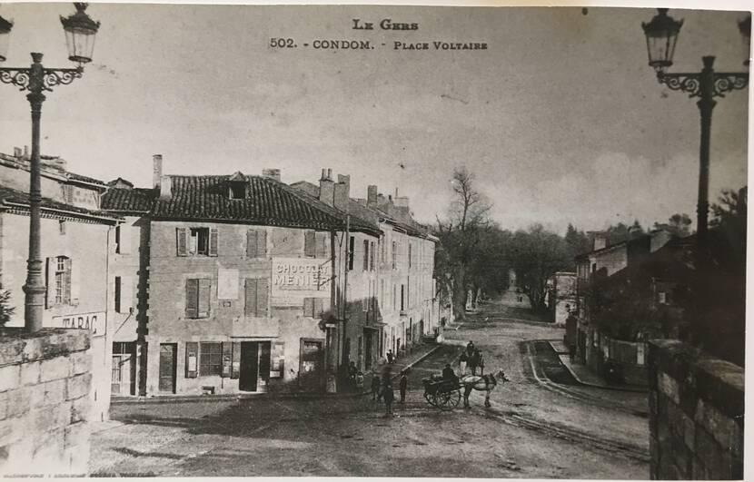 Place du Souvenir - Photo ancienne Fenestra