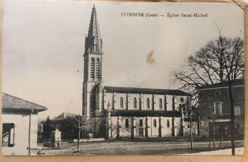 Eglise Saint-Michel - photo ancienne Fenestra