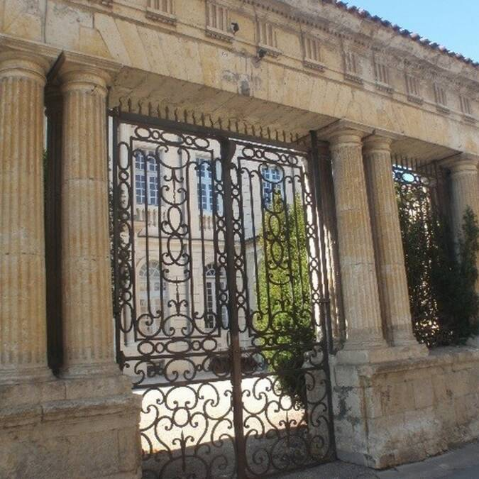 façade Est de l'hôtel Polignac à Condom