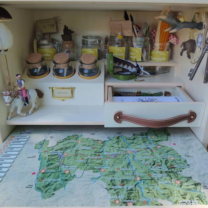 La malle découverte des paysages pour une expérience sensible autour des paysages du Gers