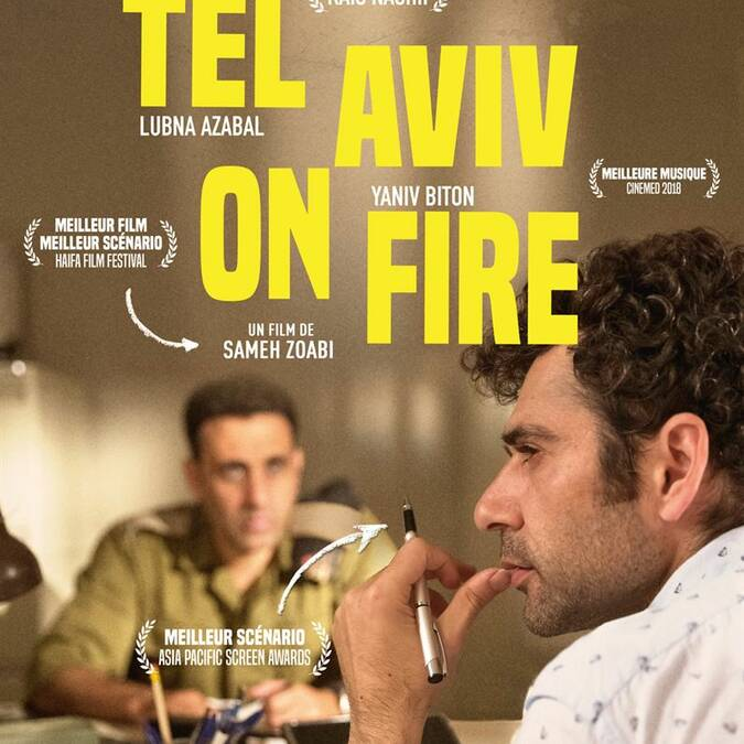Tel Aviv on fire au Cinéma Le Gascogne