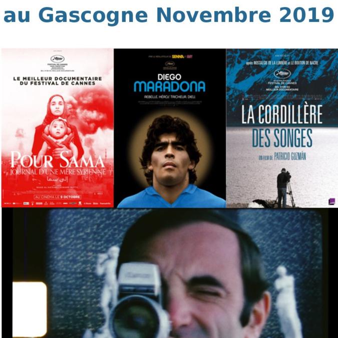 Les rendez-vous documentaires au Cinéma Le Gascogne