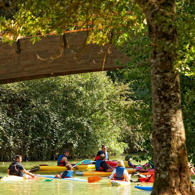Canoë sur la rivière Baïse - Gers