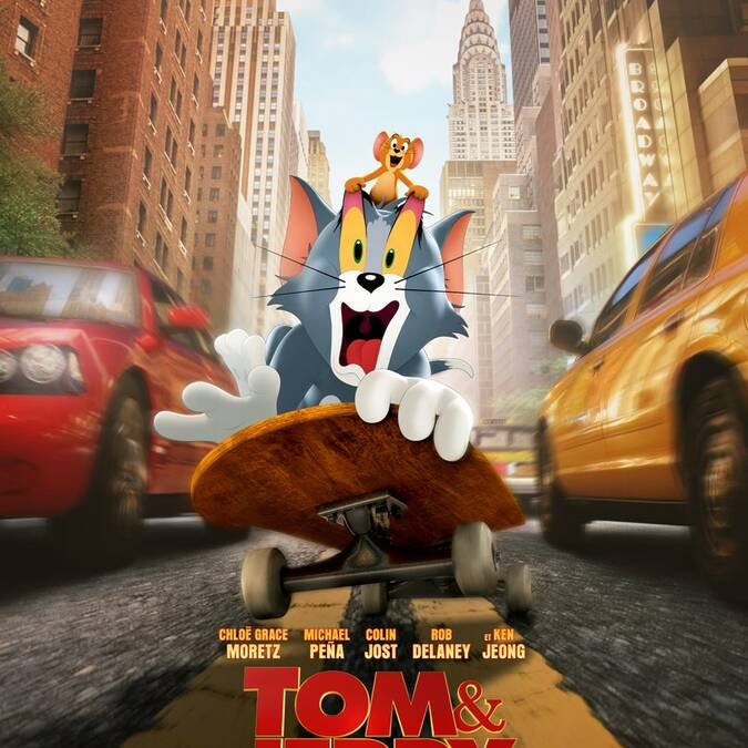 Tom et Jerry au Cinéma le Gascogne, à Condom