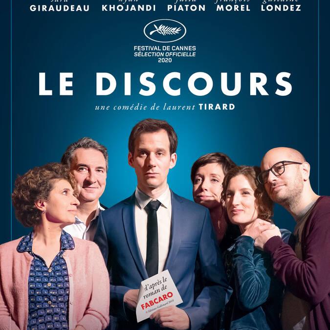 Le discours au Cinéma le Gascogne, à Condom
