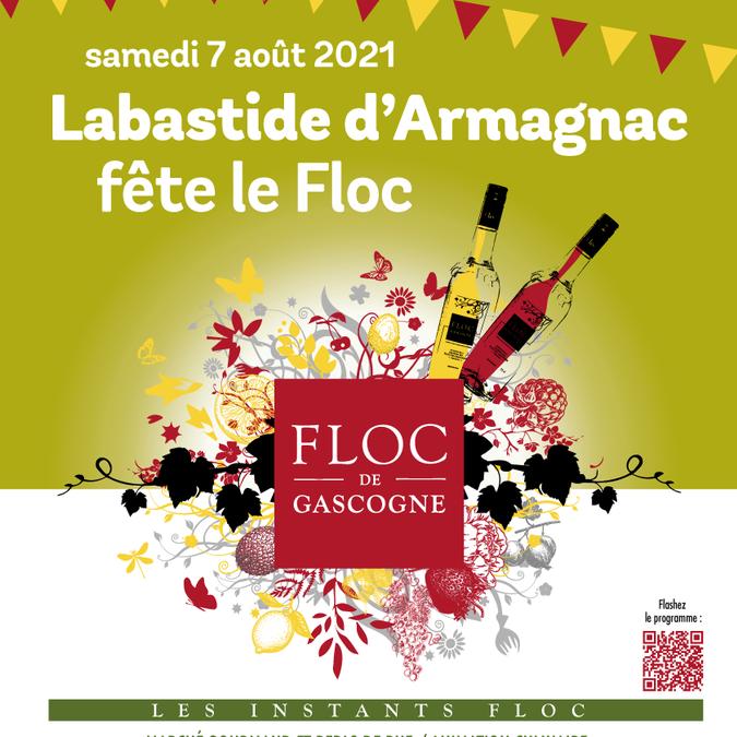 Labastide d'Armagnac fête le Floc