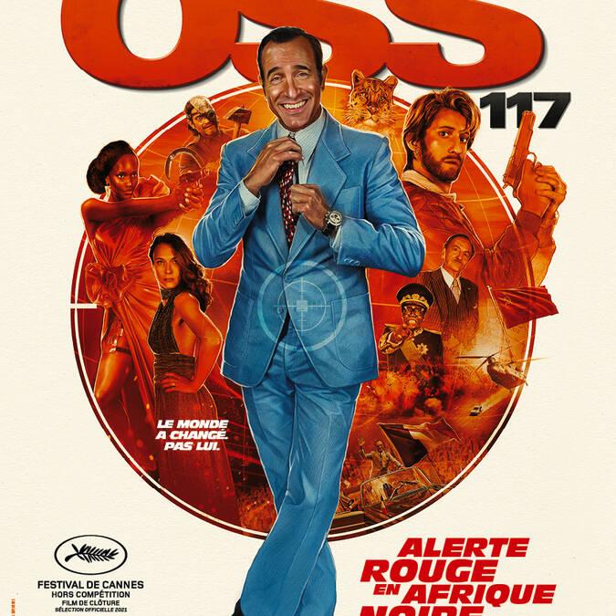 OSS 117 au Cinéma le Gascogne, à Condom