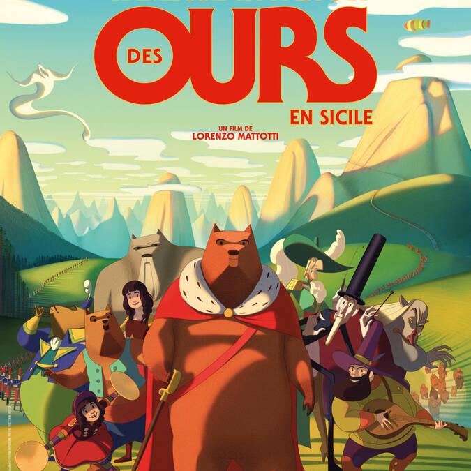 La fameuse invasion des ours en sicile au Cinéma le Gascogne à Condom