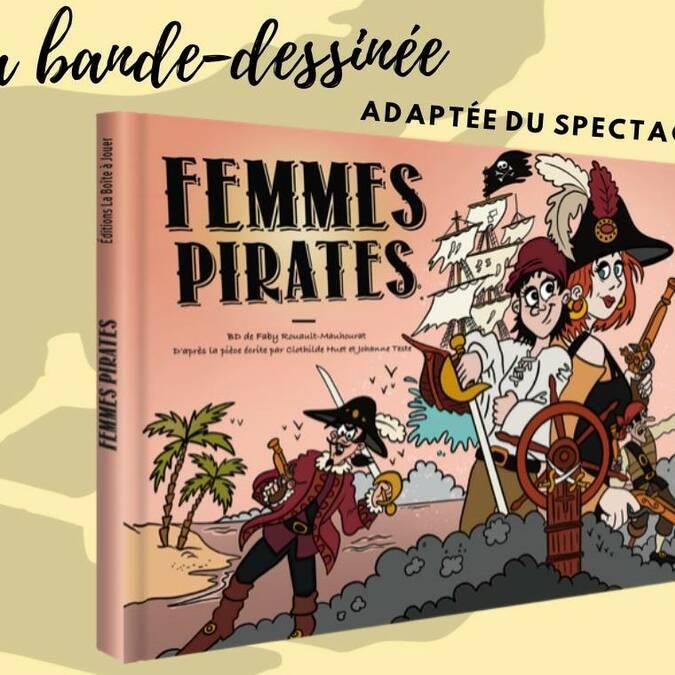 Bande-dessinée Femmes Pirates de la Boîte à Jouer