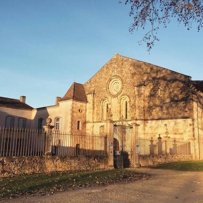 L'Abbaye de Flaran @clara_paloma