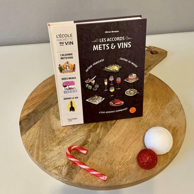 """Cadeaux de Noël """"Accord mets et vins"""""""